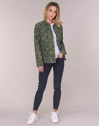 Textiel Dames Skinny Jeans G-Star Raw LYNN ZIP MID SKINNY ANKLE Blauw / Vintage / Cobler