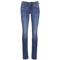 Textiel Dames Straight jeans G-Star Raw MIDGE SADDLE MID STRAIGHT Blauw