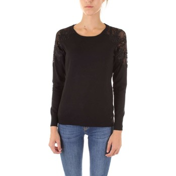 Textiel Dames Truien Fly Girl 10327-01 Nero