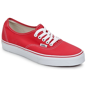 vans authentic rood