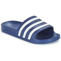 Schoenen slippers adidas Performance ADILETTE AQUA Blauw