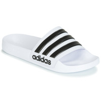 Schoenen slippers adidas Originals ADILETTE SHOWER Wit / Zwart
