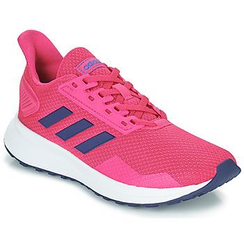 Schoenen Kinderen Lage sneakers adidas Performance DURAMO 9 K Roze