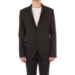 Textiel Heren Jasjes / Blazers Selected 16064636 Nero