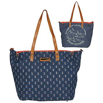 Tassen Dames Handtassen lang hengsel Les Tropéziennes par M Belarbi GUETHARY 02 Blauw