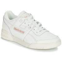 Schoenen Dames Lage sneakers Reebok Classic WORKOUT LO PLUS Wit