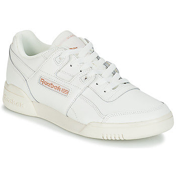 Schoenen Dames Lage sneakers Reebok Classic WORKOUT LO PLUS Wit