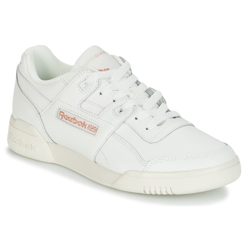 Reebok Classic Workout Lo Plus Wit - Gratis Levering Schoenen Lage Sneakers Dames 6497