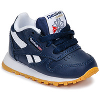 Schoenen Jongens Lage sneakers Reebok Classic CLASSIC LEATHER Blauw / Wit