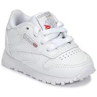 Schoenen Kinderen Lage sneakers Reebok Classic CLASSIC LEATHER Wit