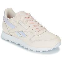 Schoenen Meisjes Lage sneakers Reebok Classic CLASSIC LEATHER Roze