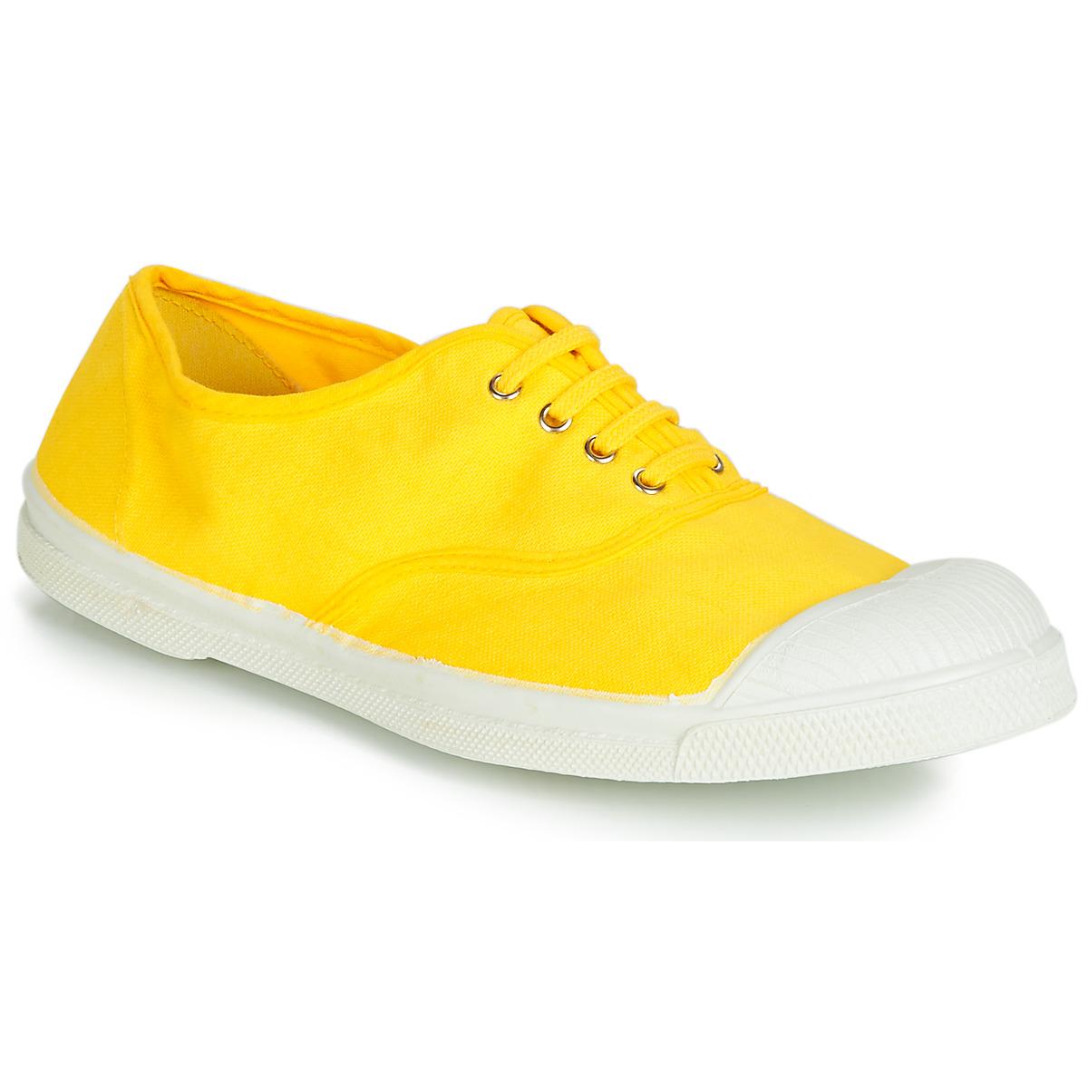 Bensimon damessneaker geel
