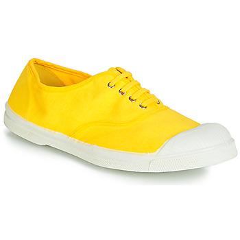 Schoenen Dames Lage sneakers Bensimon TENNIS LACETS Citron