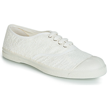 Schoenen Dames Lage sneakers Bensimon TENNIS BRODERIE ANGLAISE Wit