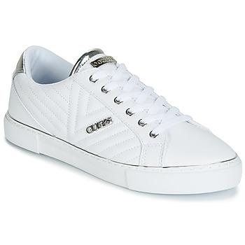 Schoenen Dames Lage sneakers Guess GROOVIE Wit