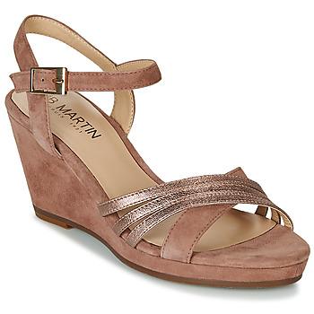Schoenen Dames Sandalen / Open schoenen JB Martin QUOLIDAYS Camel