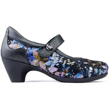 Schoenen Dames pumps Calzamedi STONE-schoenen ZWART