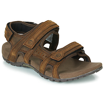 Schoenen Heren Outdoorsandalen Merrell SANDSPUR LEE BACKSTRAP Bruin