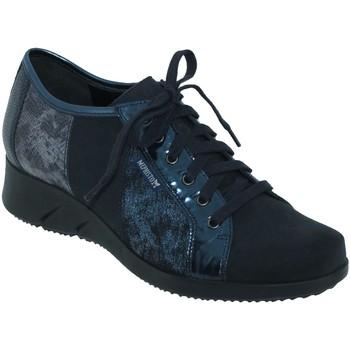 Schoenen Dames Derby Mephisto Melina Marineblauw