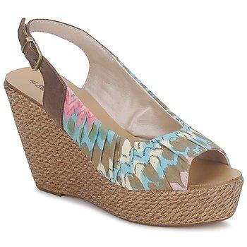Schoenen Dames Sandalen / Open schoenen Sans Interdit RICO Multicolour