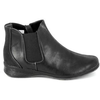 Schoenen Dames Laarzen Boissy Boots 7514 Noir Zwart
