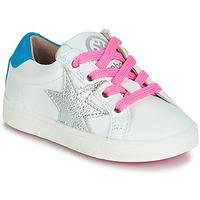Schoenen Meisjes Lage sneakers Acebo's STARWAY Wit