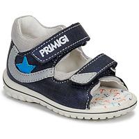 Schoenen Jongens Sandalen / Open schoenen Primigi 3377611 Blauw