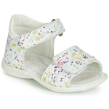 Schoenen Meisjes Sandalen / Open schoenen Primigi (enfant) 3407033 Wit
