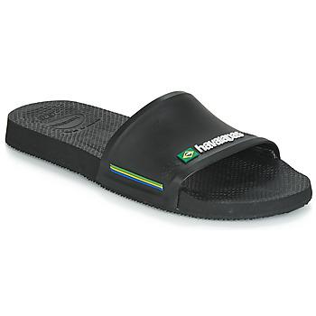 Schoenen Heren slippers Havaianas SLIDE BRASIL Zwart