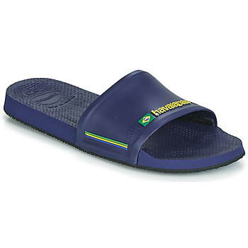 Havaianas-Slippers-Flipflops Slide Brasil-Blauw