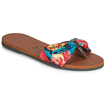 Schoenen Dames Teenslippers Havaianas YOU SAINT TROPEZ Fleur