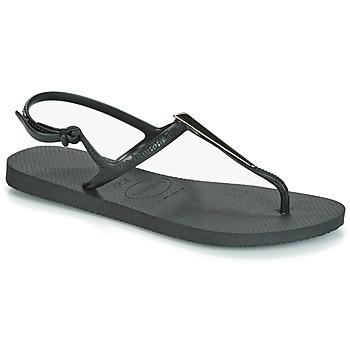 Schoenen Dames Sandalen / Open schoenen Havaianas FREEDOM MAXI Zwart