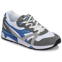 Schoenen Heren Lage sneakers Diadora N 9000 III Wit / Grijs / Turquoize