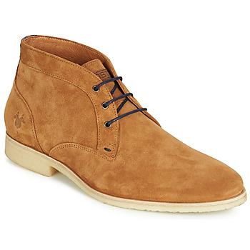 Schoenen Heren Laarzen Kost CALYPSO 59 Cognac