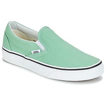 Schoenen Dames Instappers Vans CLASSIC SLIP-ON Groen