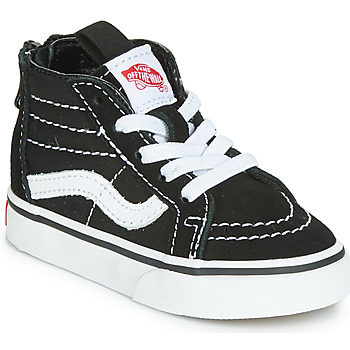 Schoenen Kinderen Hoge sneakers Vans SK8-HI ZIP Zwart / Wit