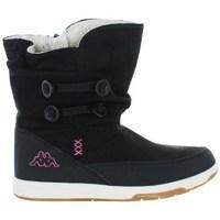 Schoenen Kinderen Snowboots Kappa Cream Zwart