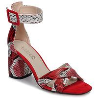 Schoenen Dames Sandalen / Open schoenen Fericelli JEZI Rood