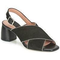 Schoenen Dames Sandalen / Open schoenen Fericelli JARIANI Zwart