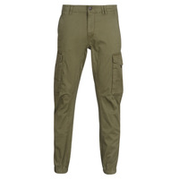 Textiel Heren Cargobroek Jack & Jones JJIPAUL Kaki