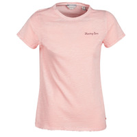 Textiel Dames T-shirts korte mouwen Maison Scotch SS T-SHIRT Roze