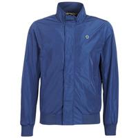 Textiel Heren Wind jackets Scotch & Soda AMS BLAUW SIMPLE HARRINGTON JACKET Marine