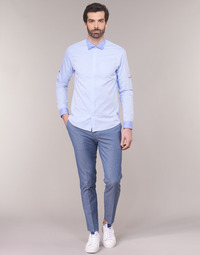 Textiel Heren Chino's Scotch & Soda RALSTONO Blauw