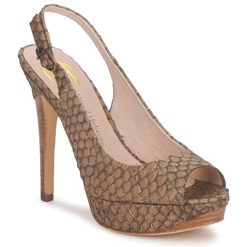 Schoenen Dames Sandalen / Open schoenen House of Harlow 1960 NADYA Bruin