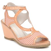 Schoenen Dames Sandalen / Open schoenen Mosquitos HOURA Oranje