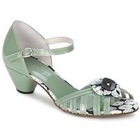 Schoenen Dames Sandalen / Open schoenen Mosquitos AMICALE Groen / Water