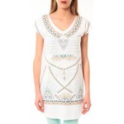 Textiel Dames T-shirts korte mouwen Little Marcel Robe E15WDRE0318 Riolo Blanc Wit