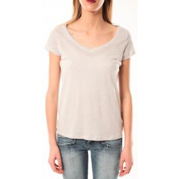 Textiel Dames T-shirts korte mouwen Little Marcel T-Shirt Talin E15FTSS0116 Gris Moyen Grijs