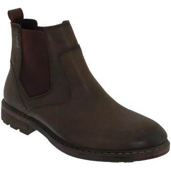 Schoenen Heren Laarzen Pikolinos Caceres-8094sp Donkerbruin leer