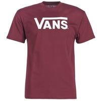 Textiel Heren T-shirts korte mouwen Vans VANS CLASSIC Bordeau